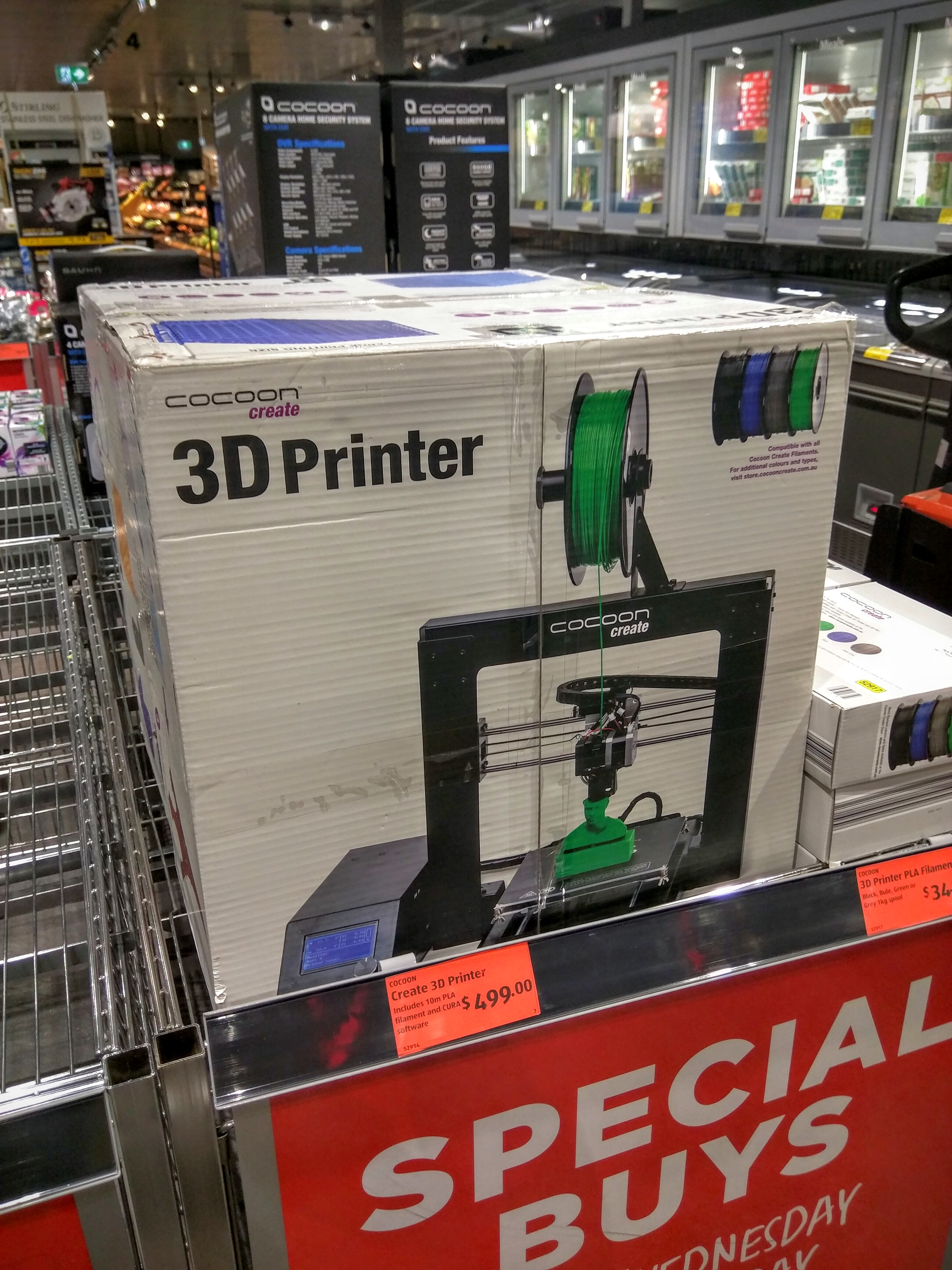 3d Printer For Sale >> File 3d Printer On Sale At Aldi Supermarket Jpg Wikimedia