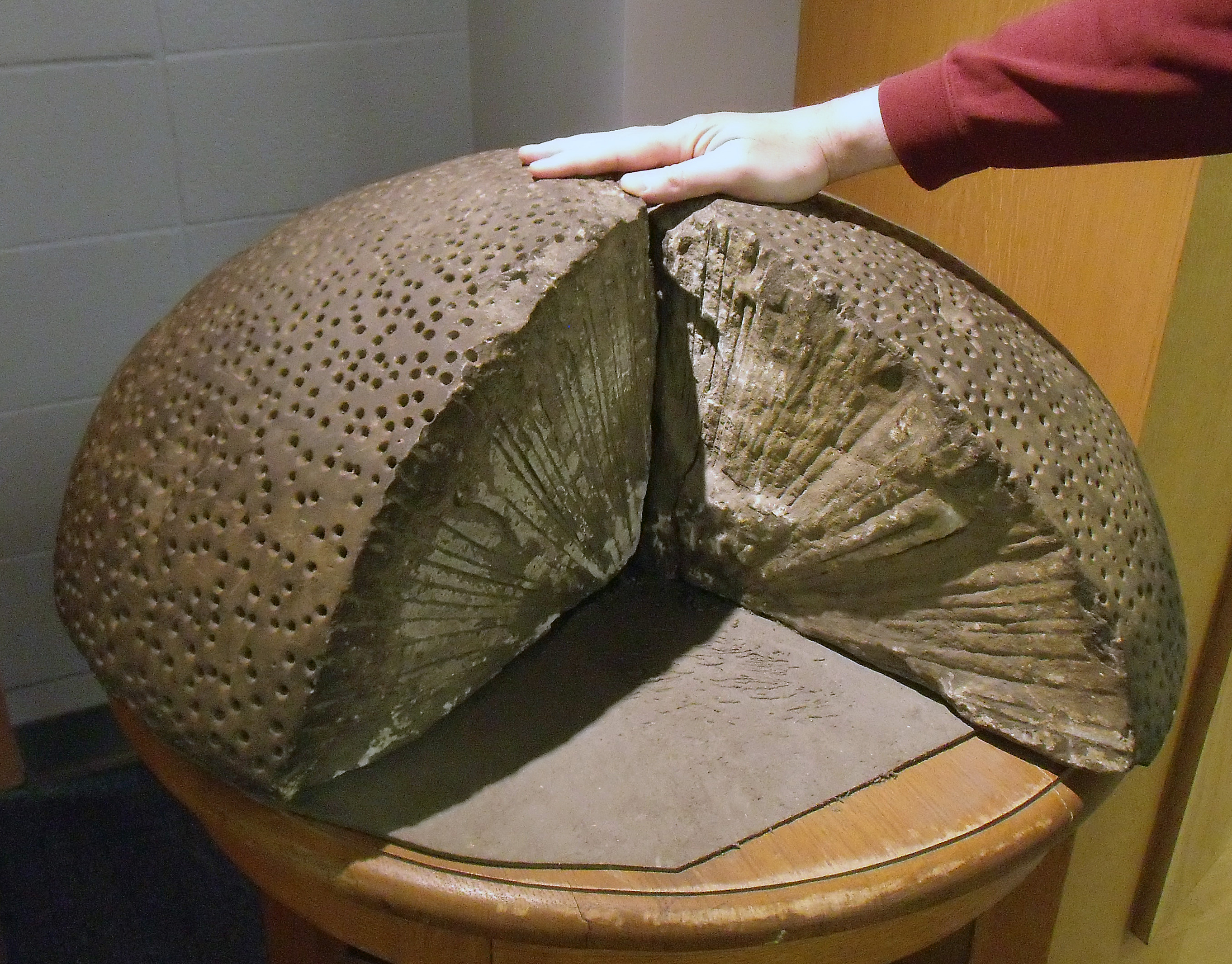 File:A pitted half-dome of a rock, U of A -b.jpg ...