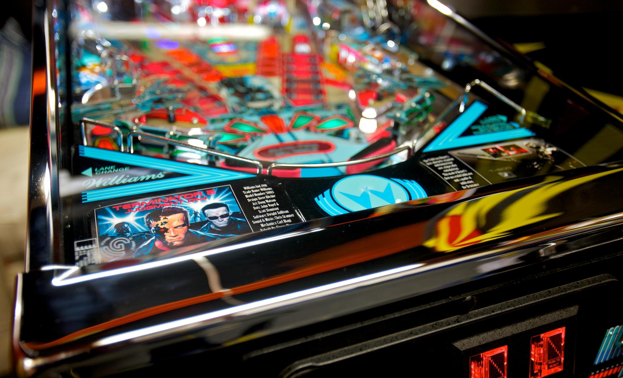 File:A rebuilt Terminator 2 pinball machine by Wayne Patrick
