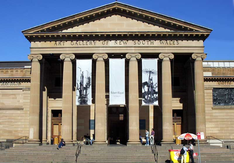 The art Gallery of NSW for Backpackers in Sydney to visit with FREE entry