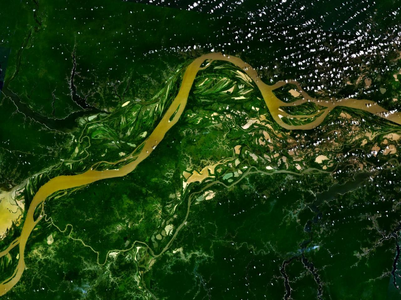 Amazon Pictures The Amazon River flowing
