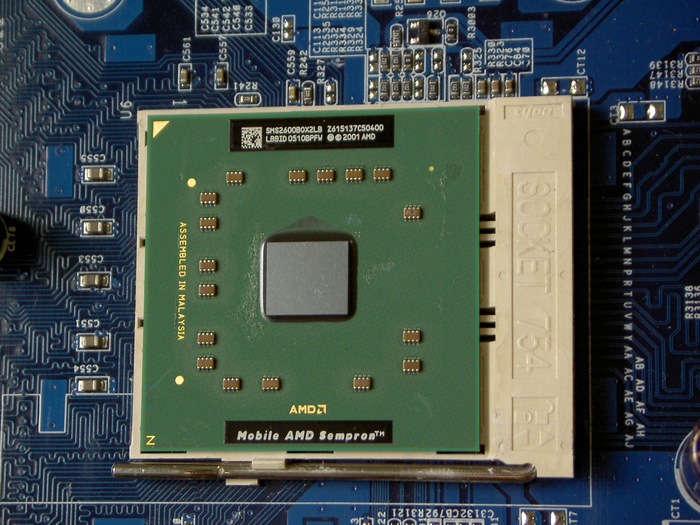 AMD MOBILE SEMPRON DRIVER UPDATE