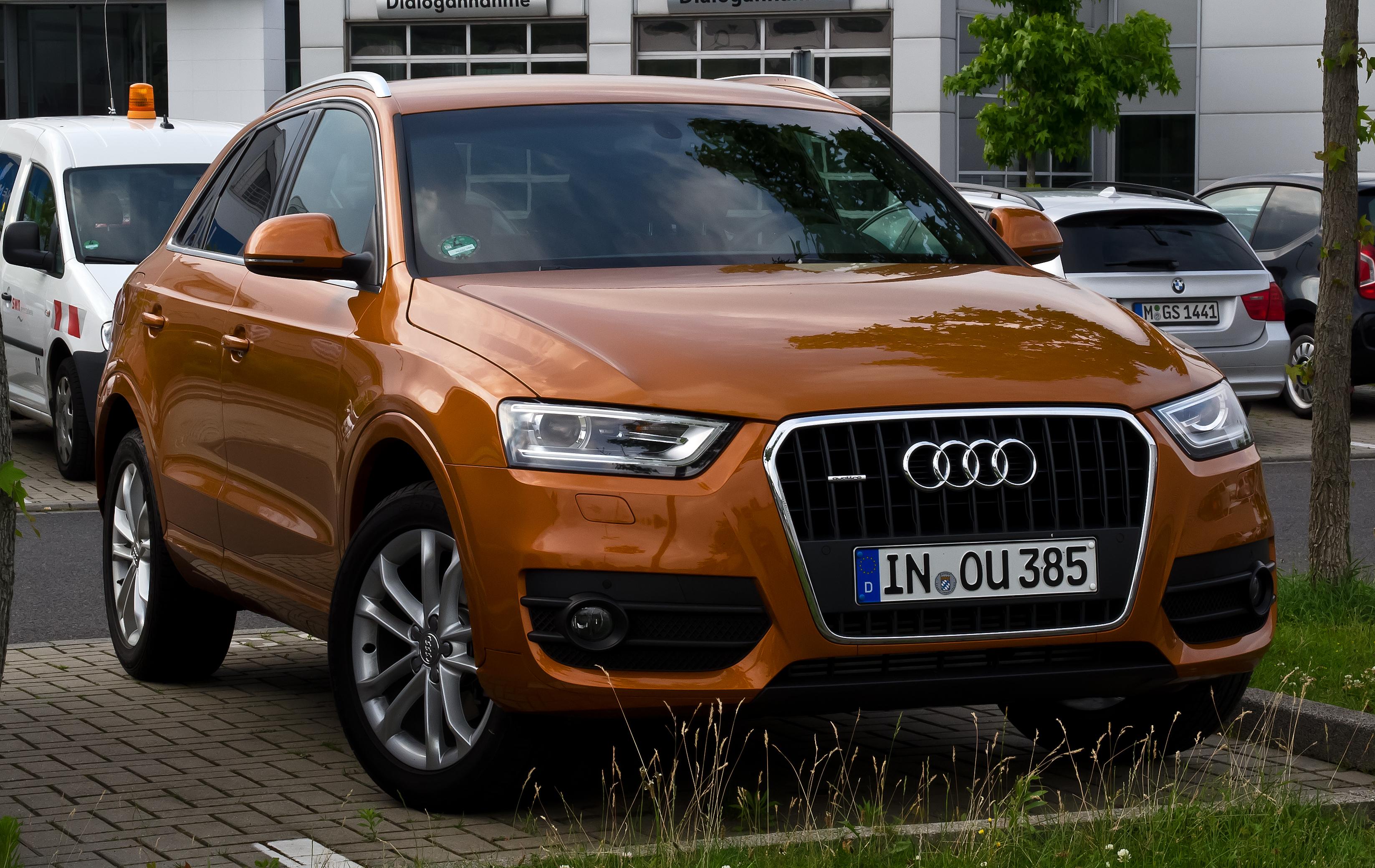 File Audi Q3 2 0 Tdi Quattro Frontansicht 18 Juni 2012