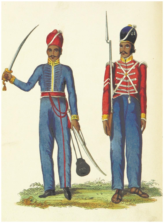 File:BEVAN(1839) 1.010 TROOPER AND SEPOY.jpg - Wikimedia Commons