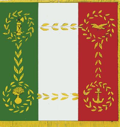 Repubblica sociale italiana wikiwand for Bandiera di guerra italiana