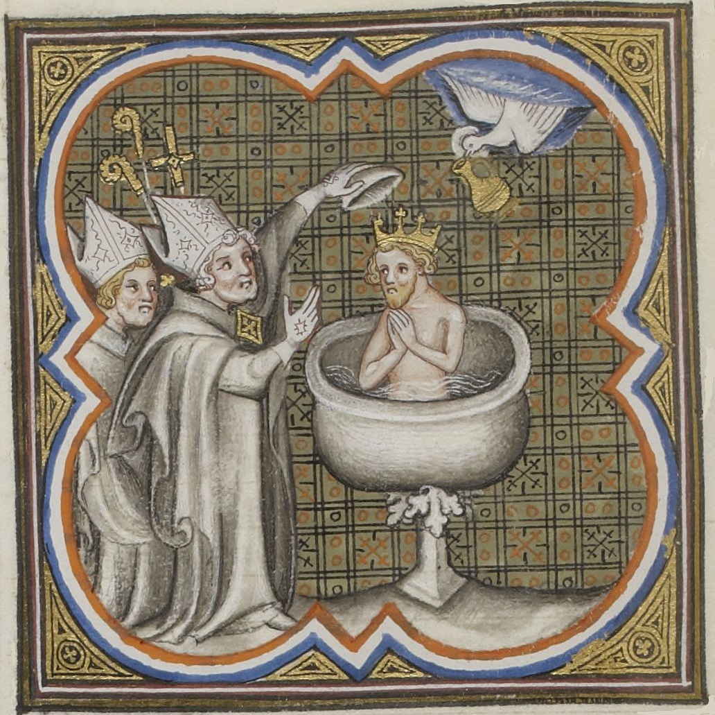 File Baptême De Clovis Jpg Wikimedia Commons