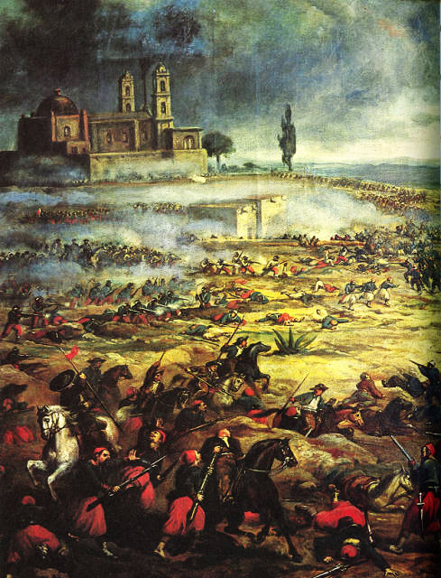 Batallade de Puebla by Anonymous