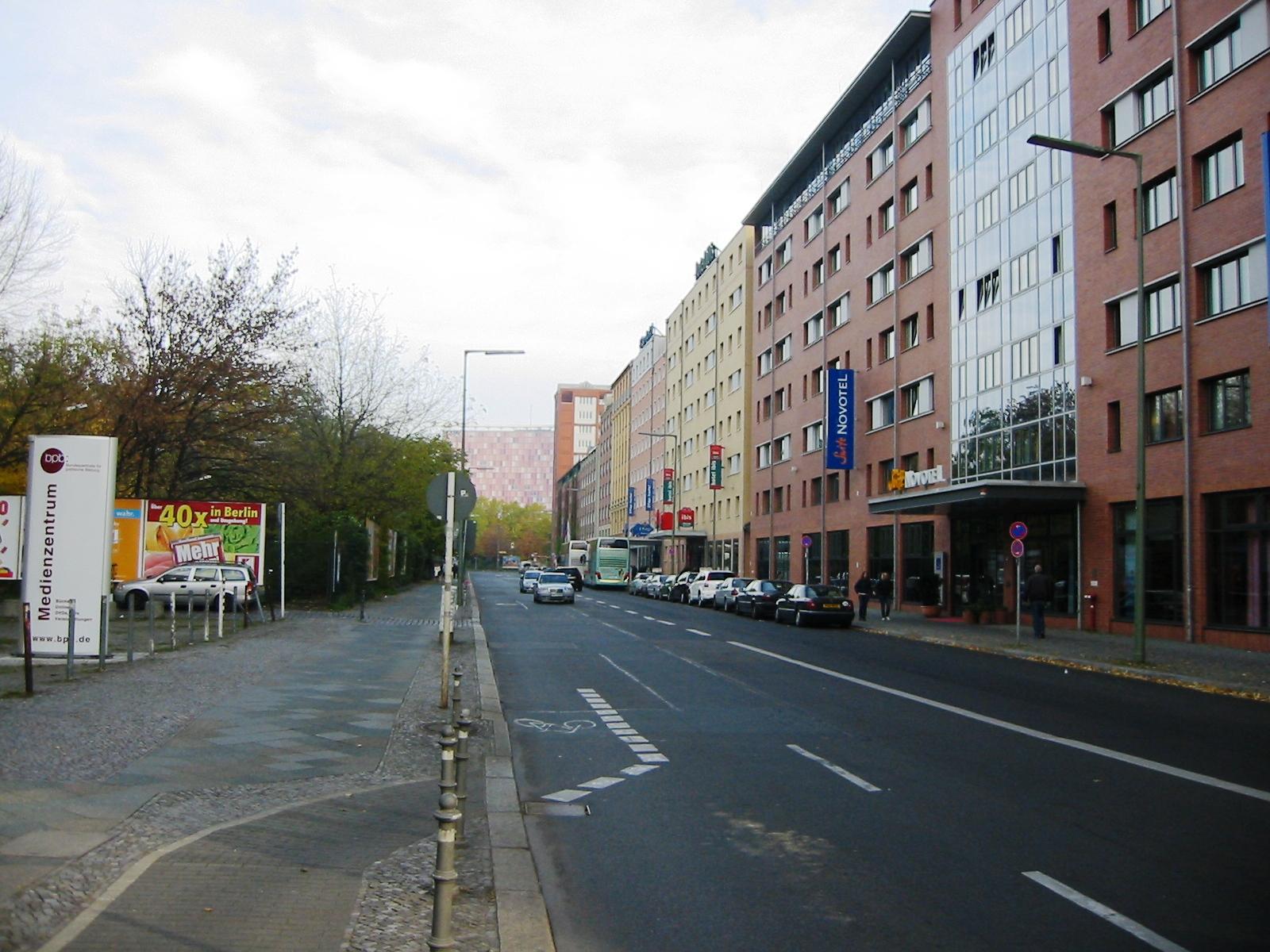 Anhalter Stra Ef Bf Bde Berlin Hotel