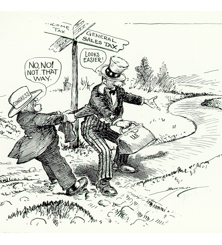 Tax Political Cartoons