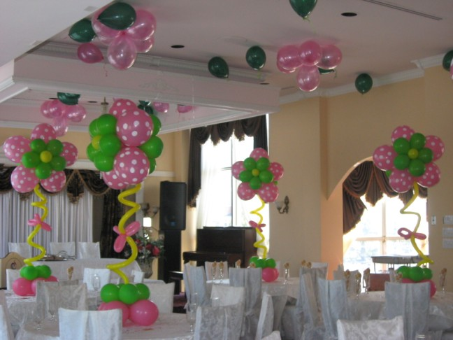 Black Party Decor