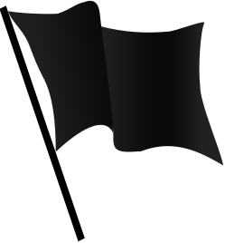 File:Black flag waving.png - Wikimedia Commons