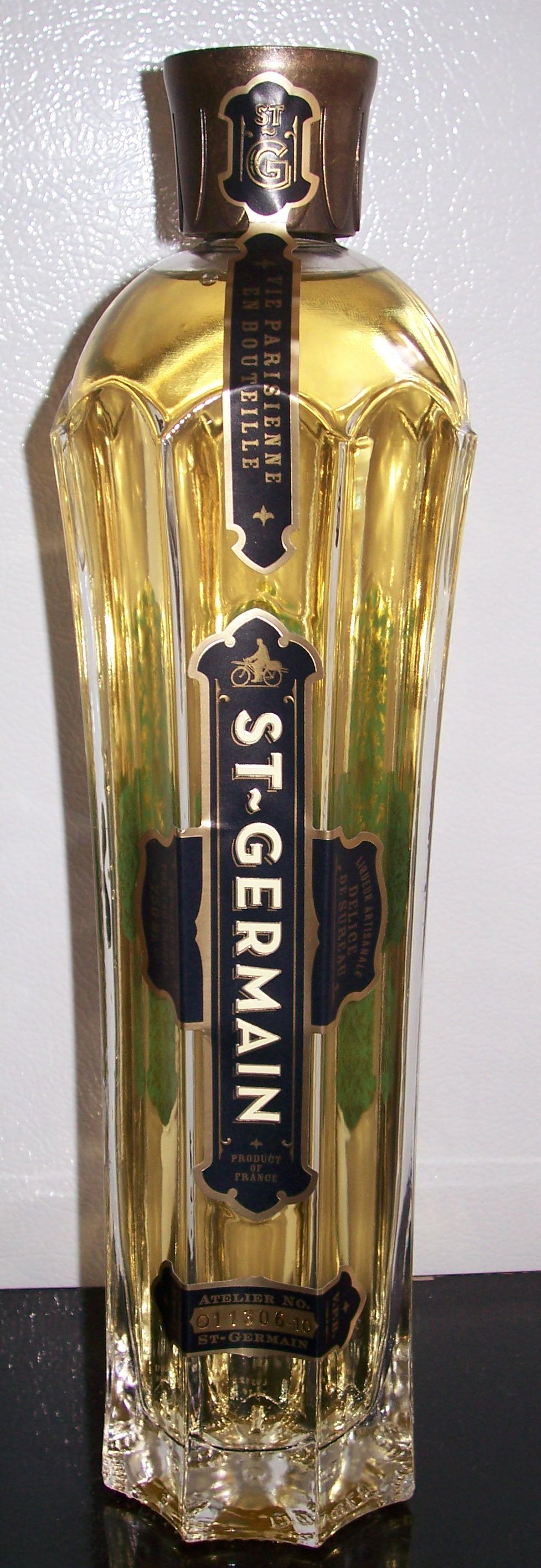 File:Bottle of St. Germain Elderflower liqueur.jpg - Wikimedia Commons