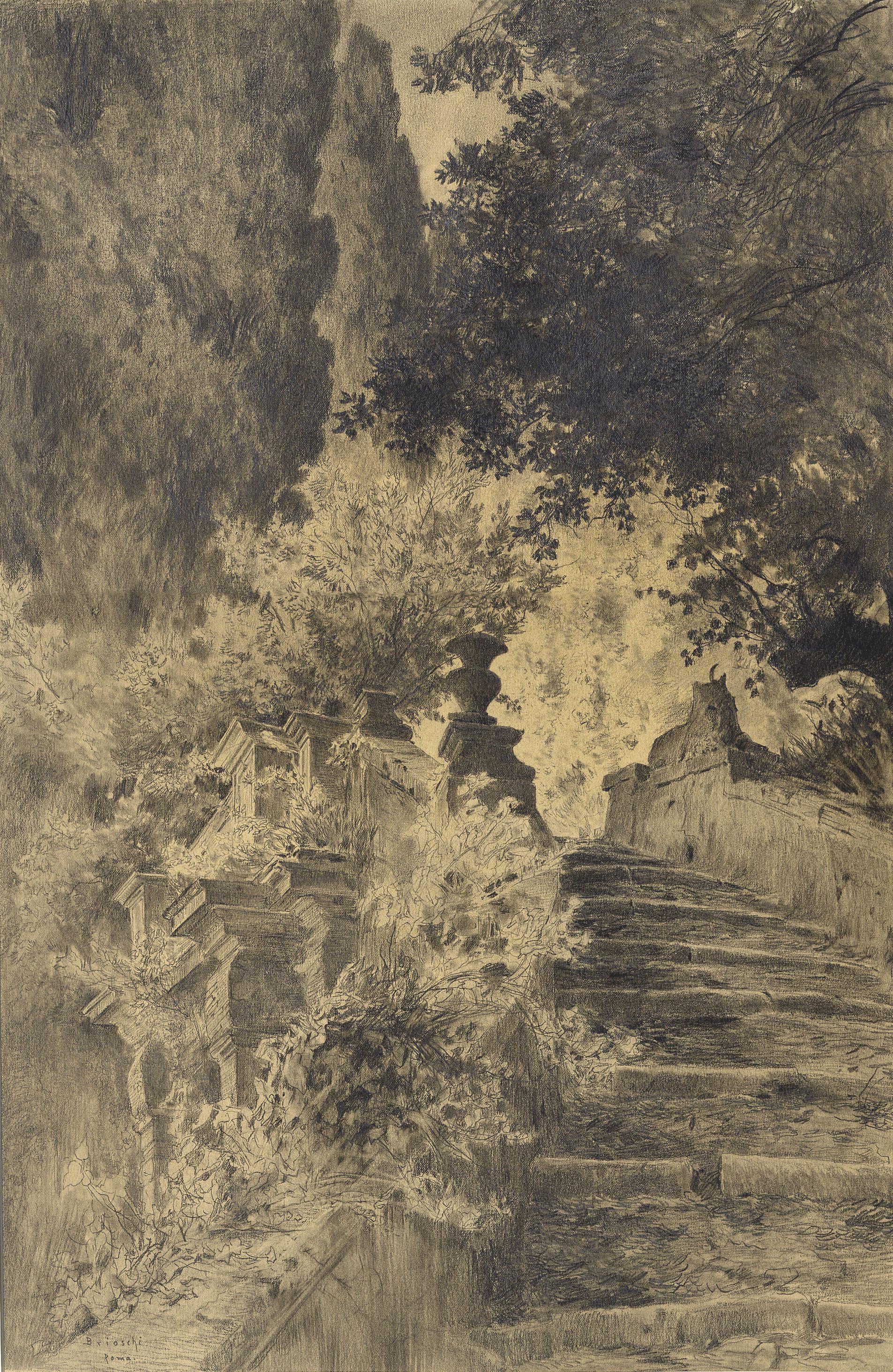 Wonderful File:Brioschi Othmar   Treppe Im Park Der Villa Du0027Este In Tivoli.