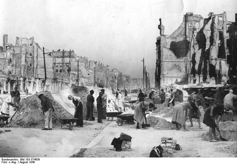 Destruição Berlim