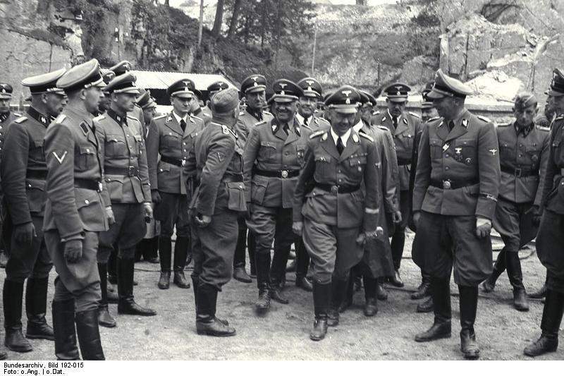 Bundesarchiv Bild 192-015, KZ Mauthausen, Besuch Heinrich Himmler