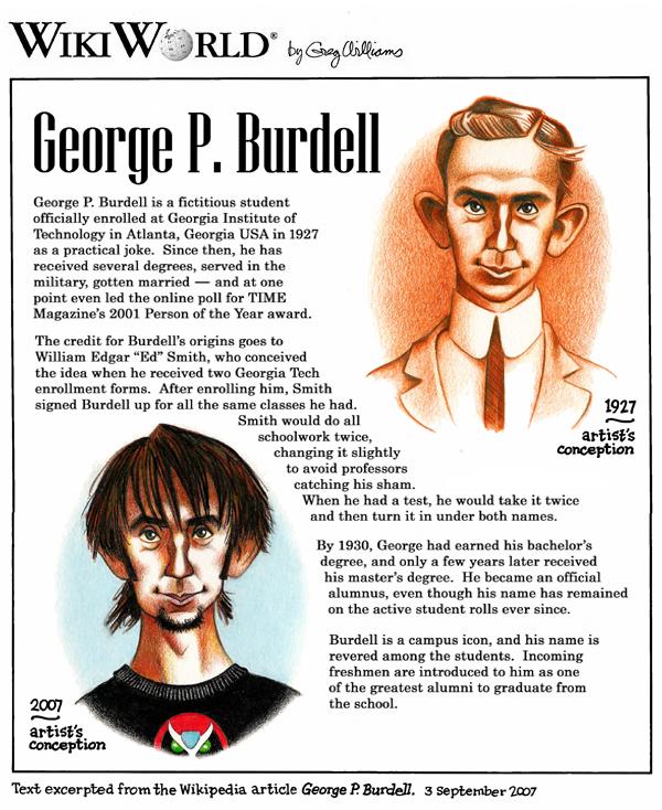 George P. Burdell Net Worth