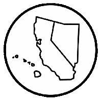 California-Nevada-Hawaii District Logo