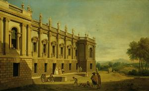 Capriccio with a View of Burlington House, London