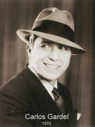 Carlos Gardel, French-Argentine singer and composer, considered the most important tango singer Carlosgardel.jpg