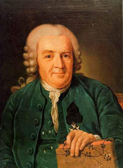 Portrait of Carl von Linné (Carolus Linnaeus) - Public domain