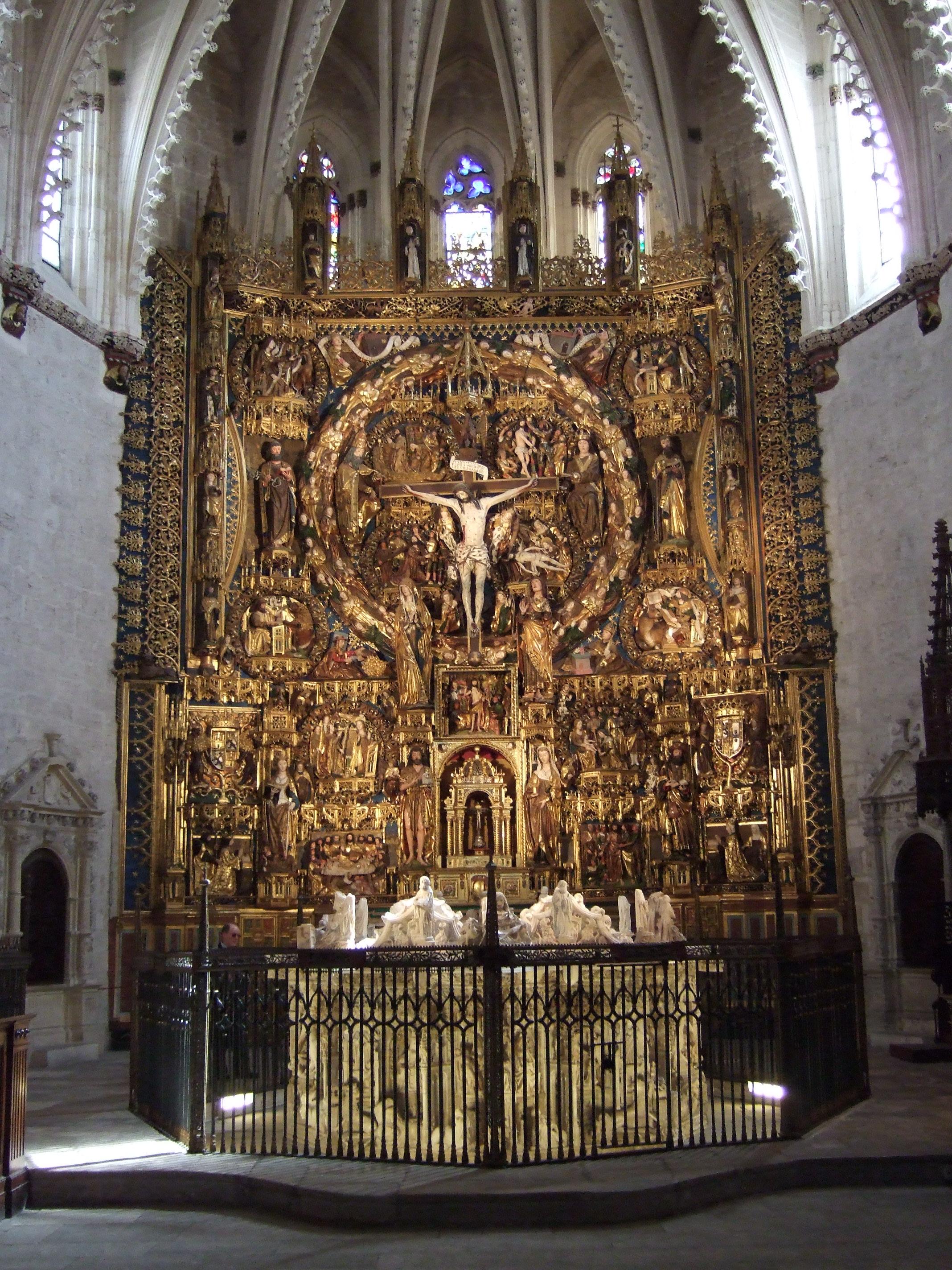 File cartuja de moraflores burgos retablo mayor y for Todo pintura sevilla