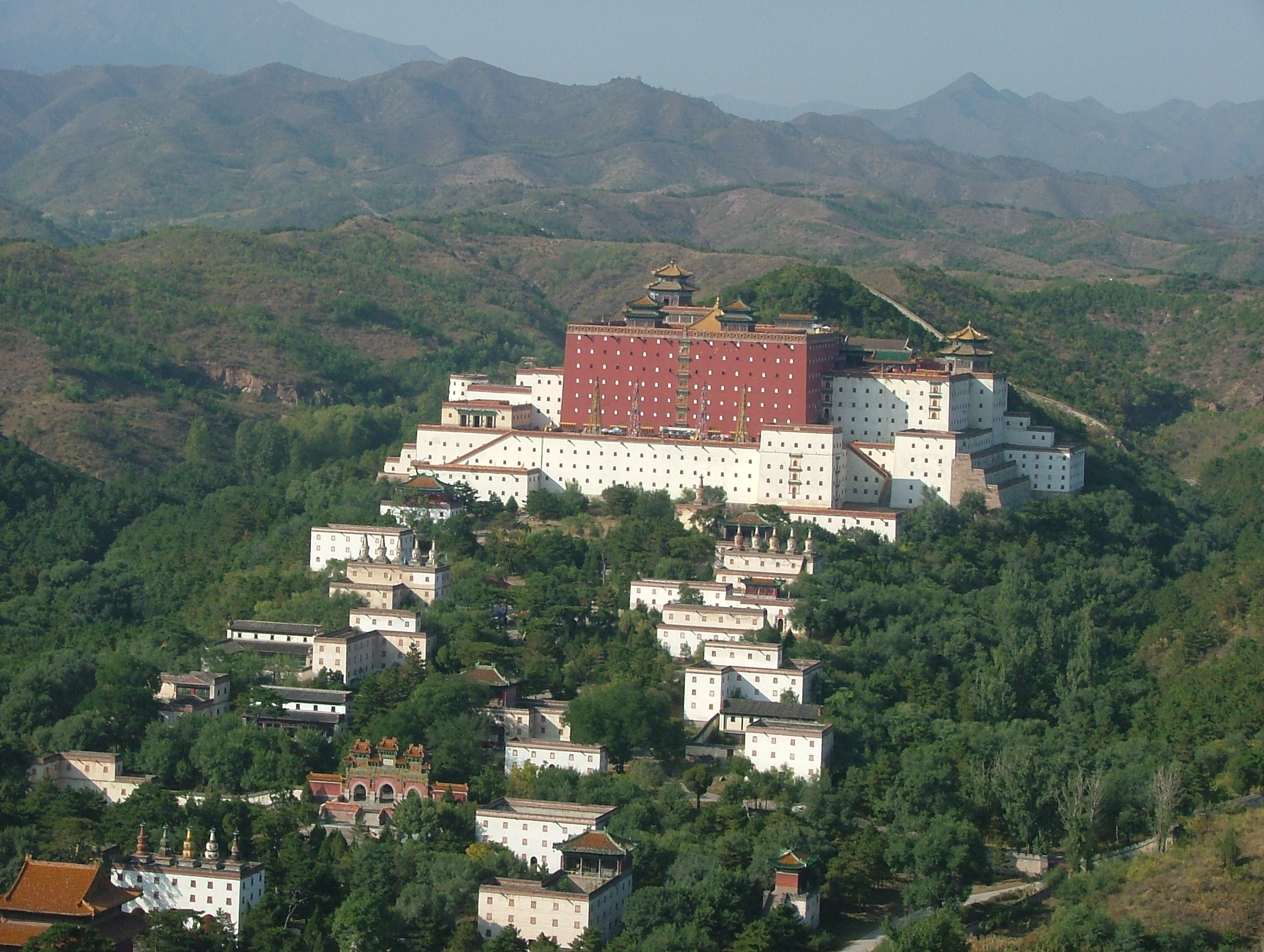 Chengde China  city photos : Chengde view from mountain top Wikimedia Commons