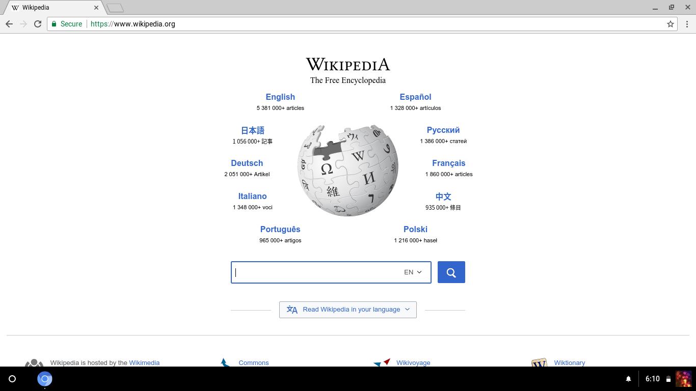 Chromium OS – Wikipédia, a enciclopédia livre