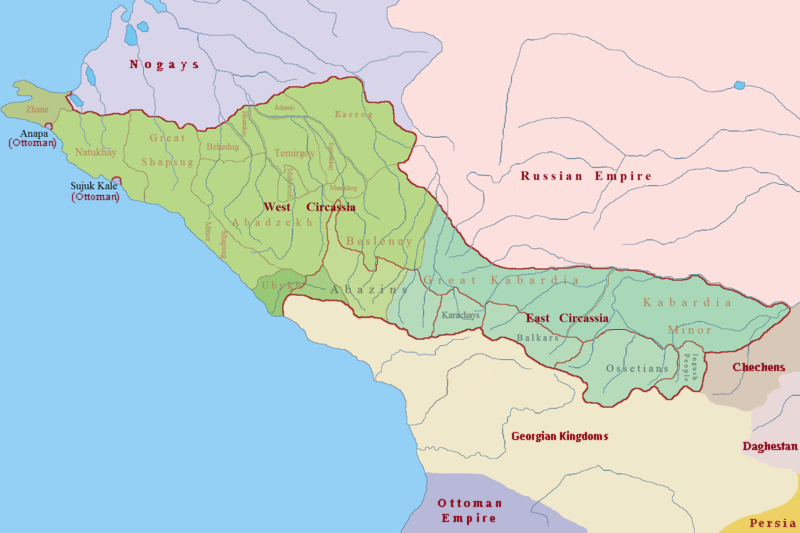 Depiction of Circasia