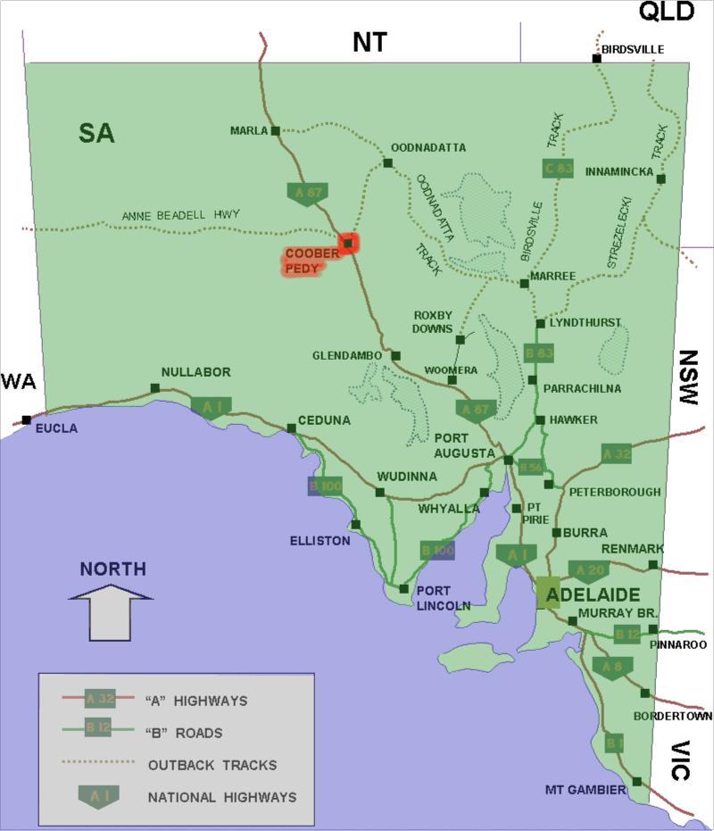 Coober Pedy South Australia Simple English Wikipedia the free encyclopedia