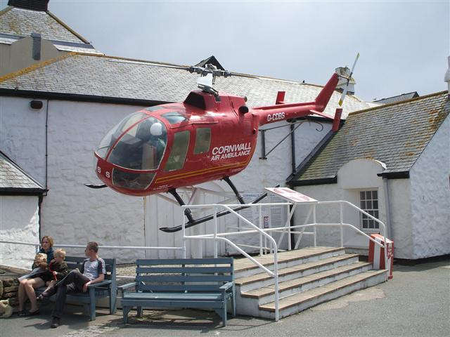 Copter at Land's End - geograph.org.uk - 463004