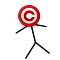 Copyright Icon-Headed Stickman.png