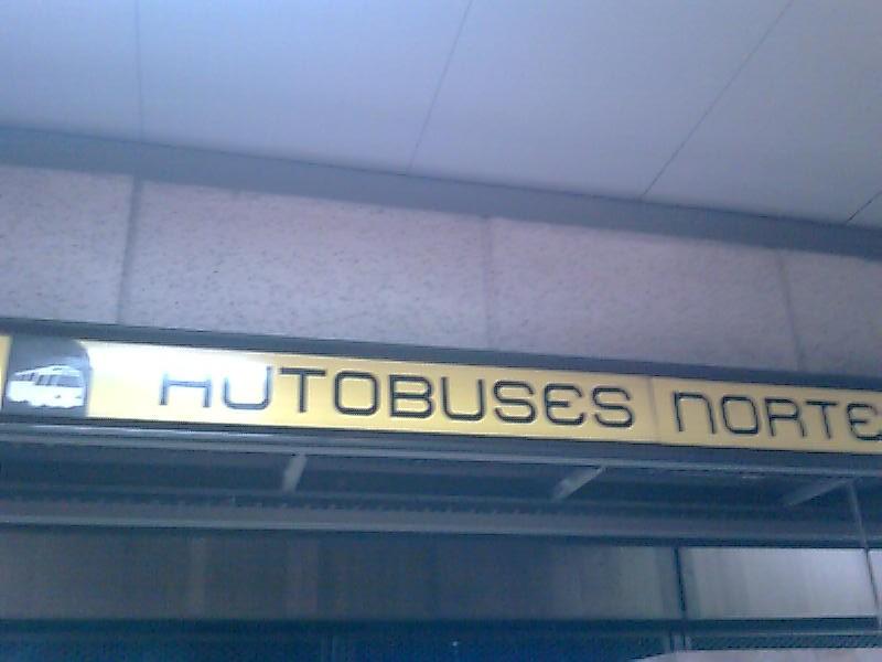 estacion autobus la linea: