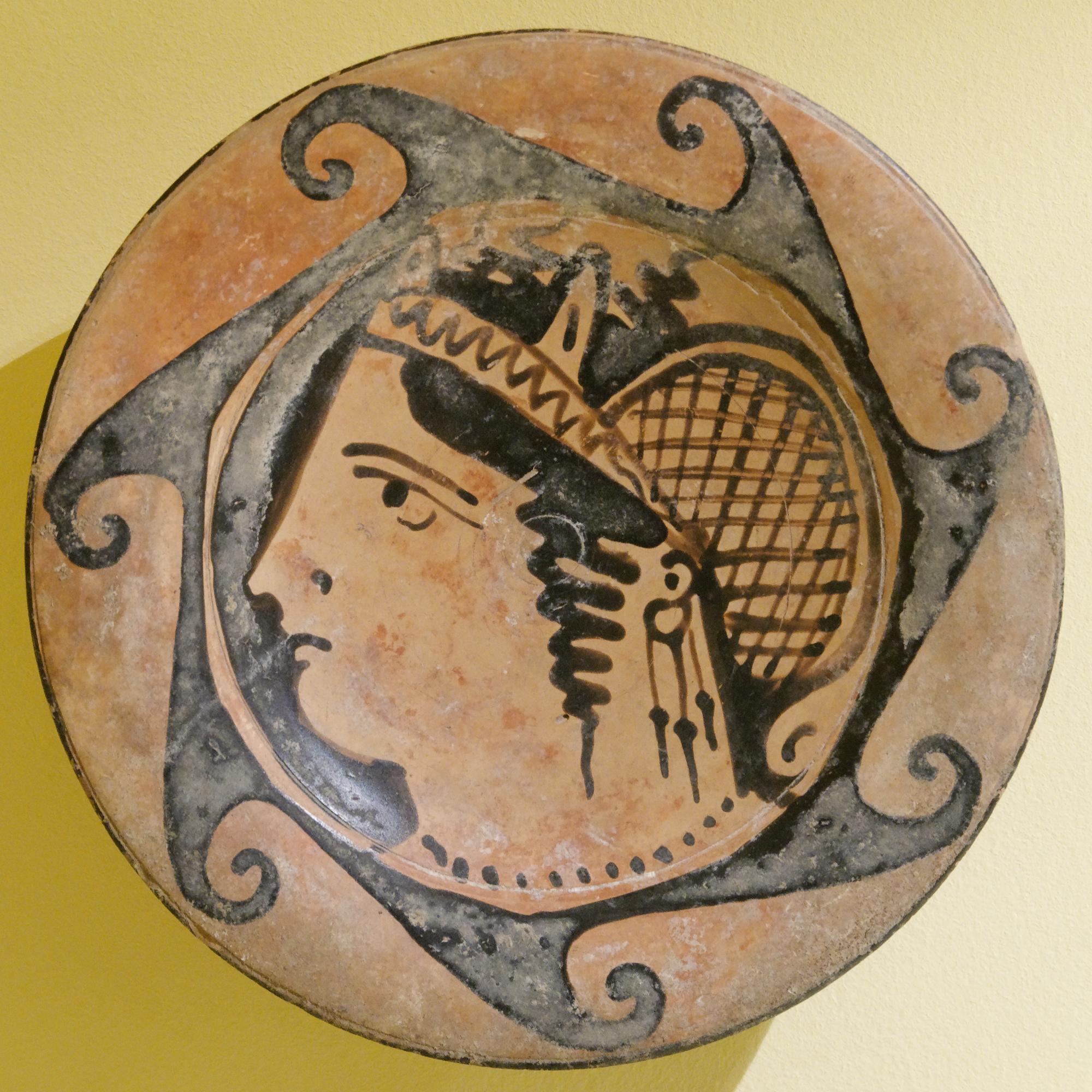 Etruský talíř