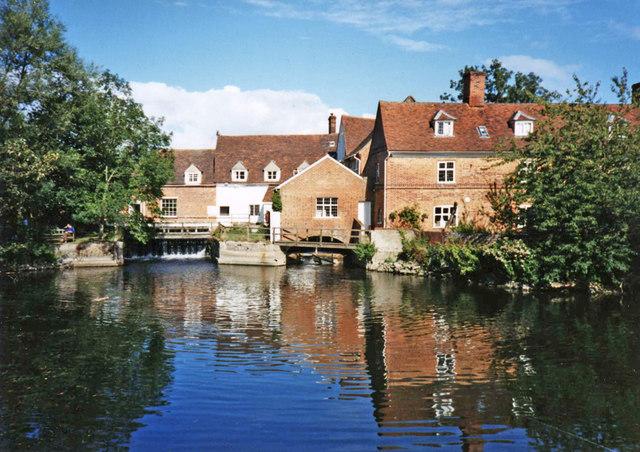 Flatford Mill, East Bergholt, Suffolk - geograph.org.uk - 878764
