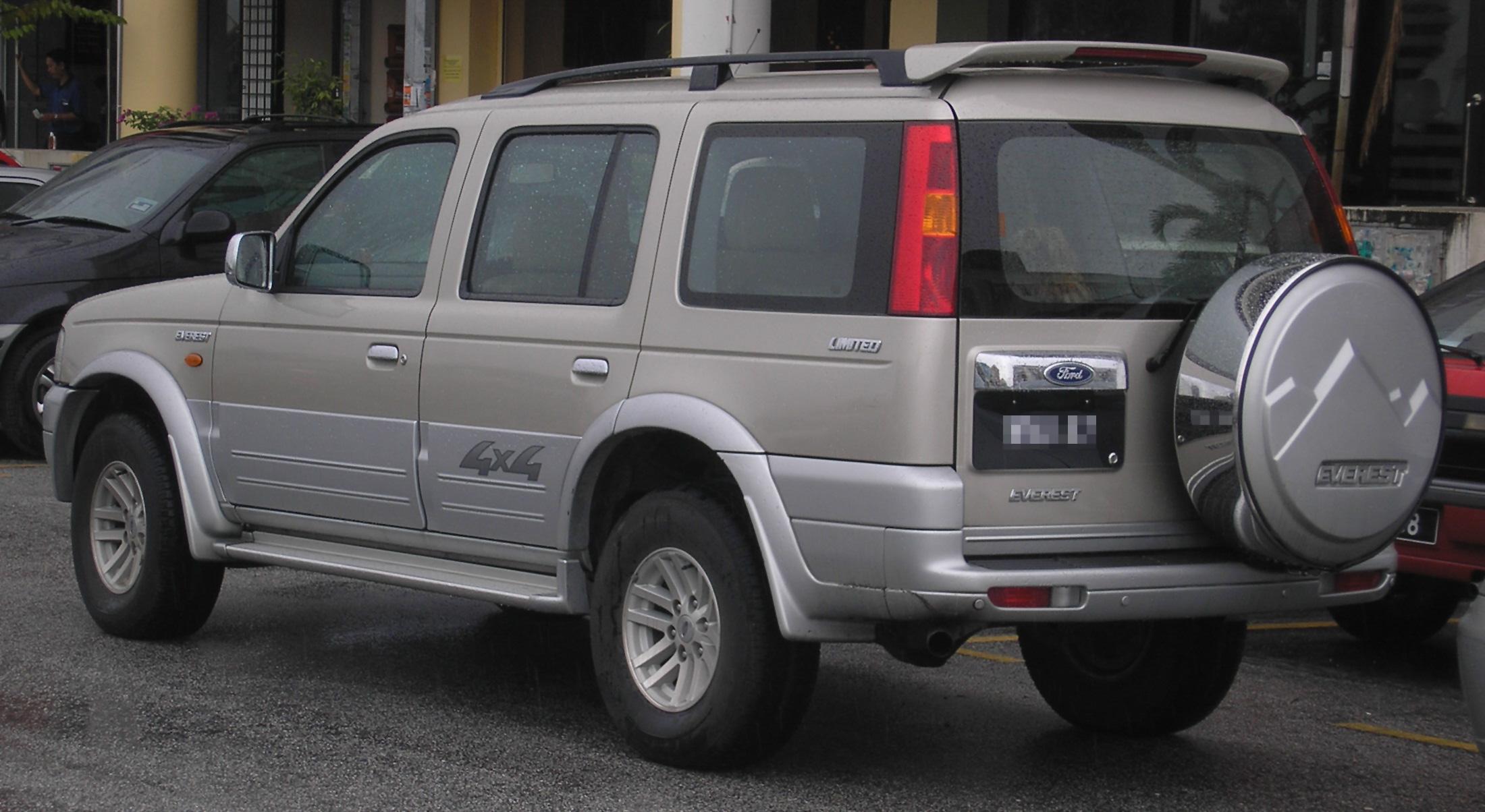 File ford everest first generation rear serdang jpg