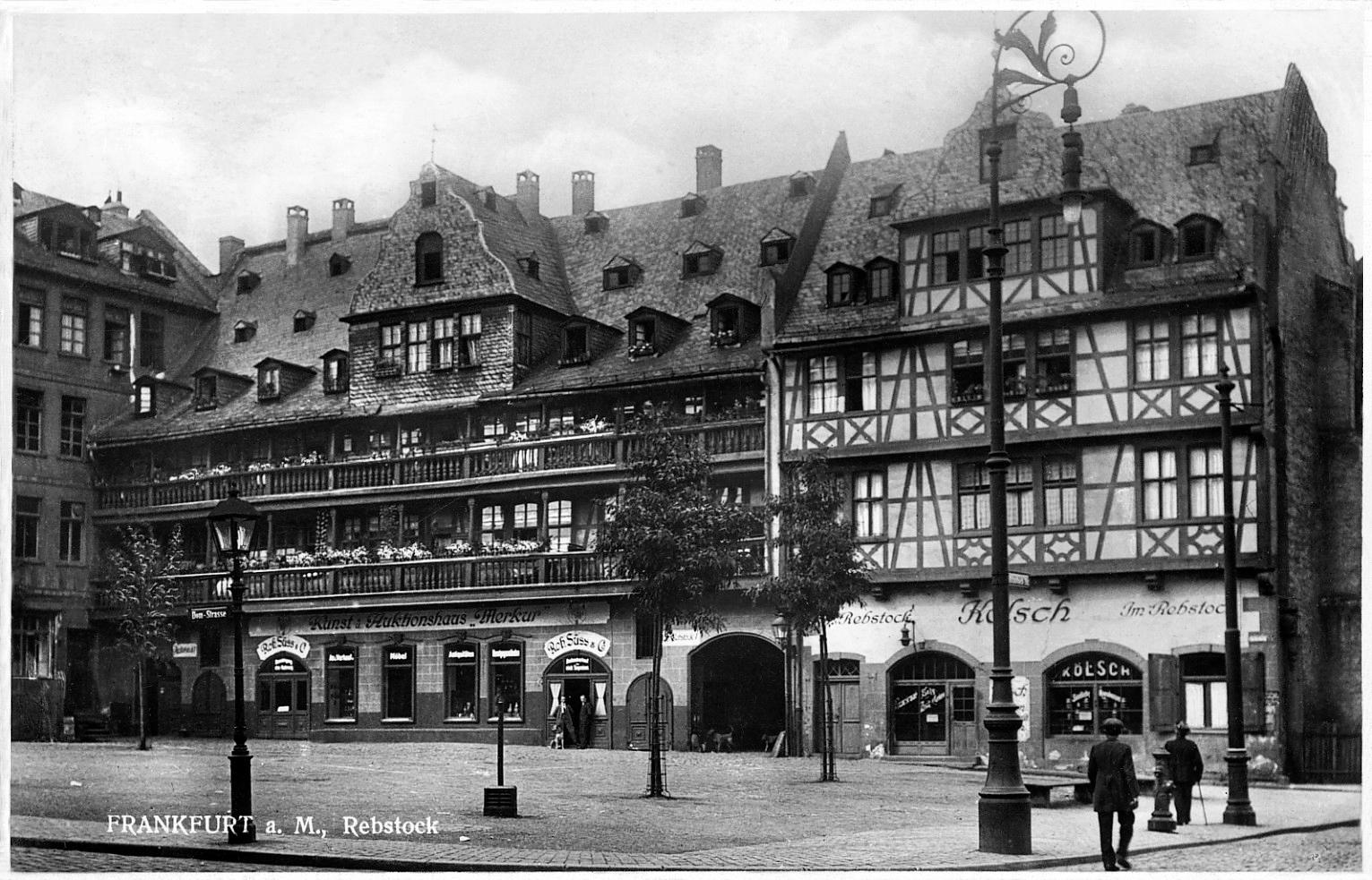 "... Enders / Lithografie Frankfurt am Main ""Alter Markt"" um 1920 | eBay"