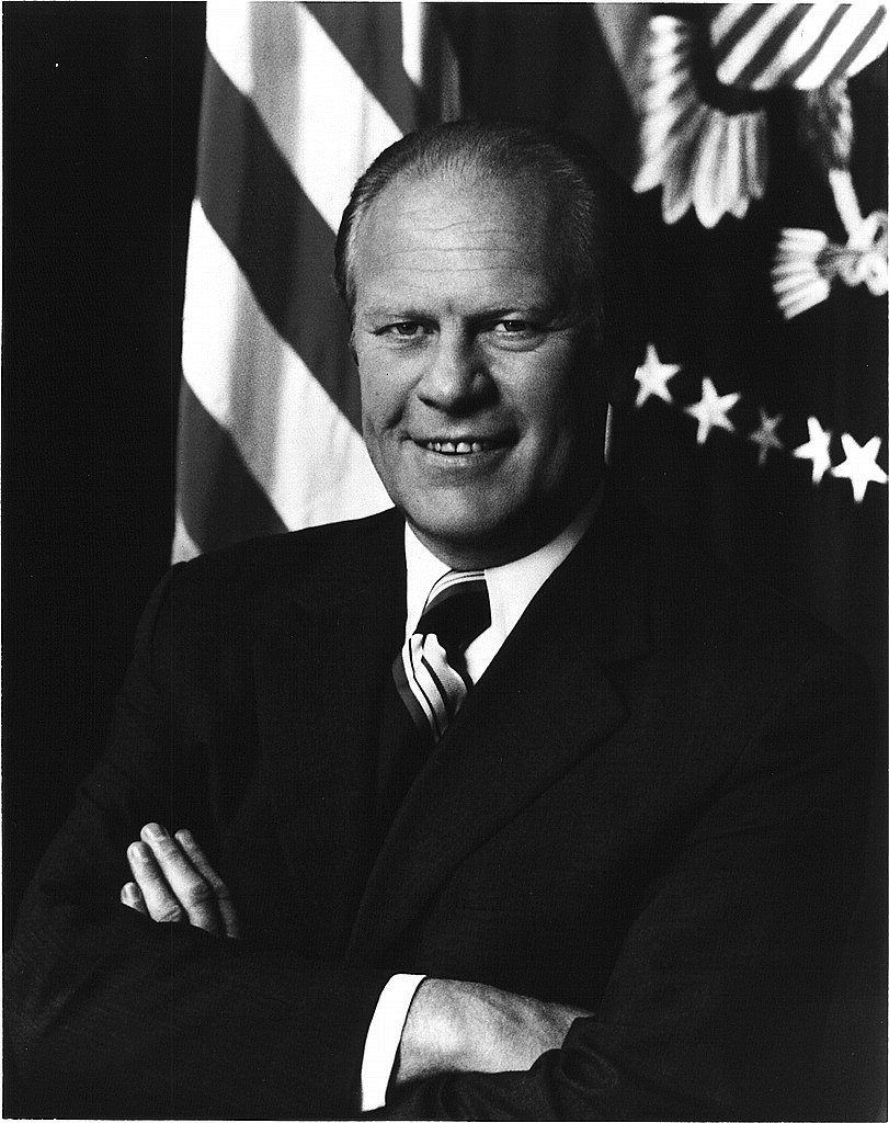 File Gerald R Ford Official White House Photograph 1974