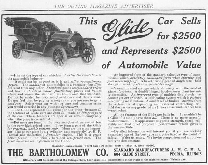 glide automobile wikipedia
