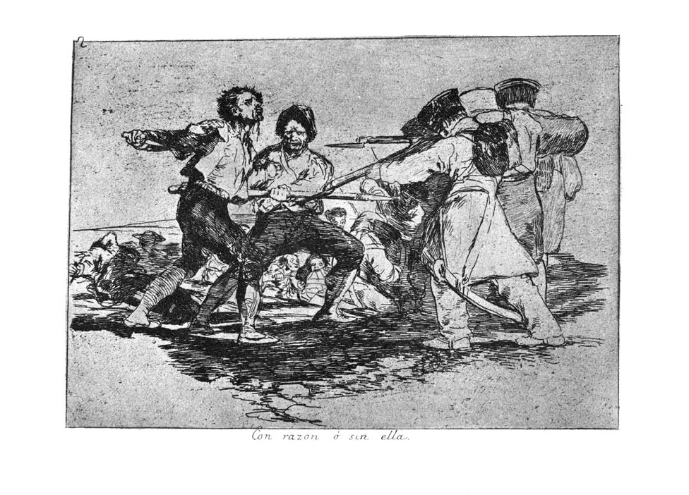 Resultado de imagen de Goya guerra