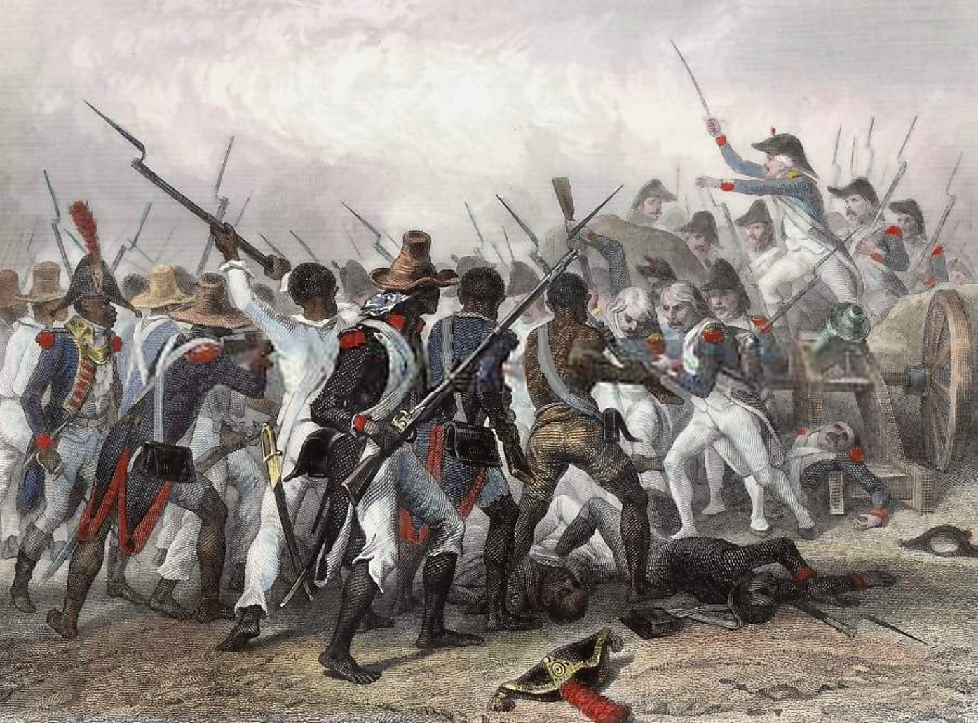 resourcesforhistoryteachers toussaint l ouverture and the original illustration by e raffet 1839