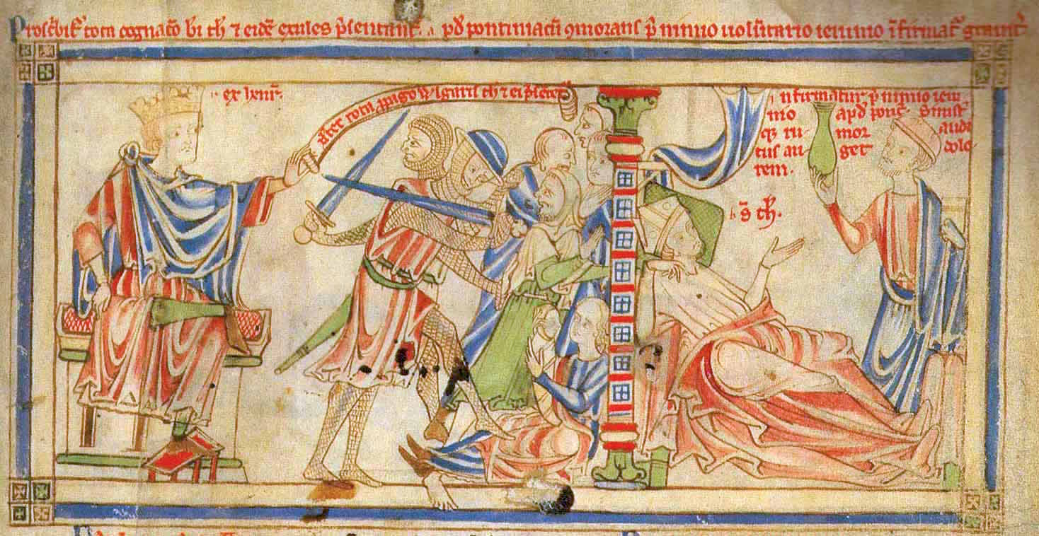 Thomas Becket in Exile