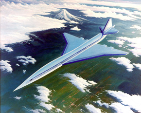 High Speed Civil Transport NASA project to develop a supersonic passenger aircraft