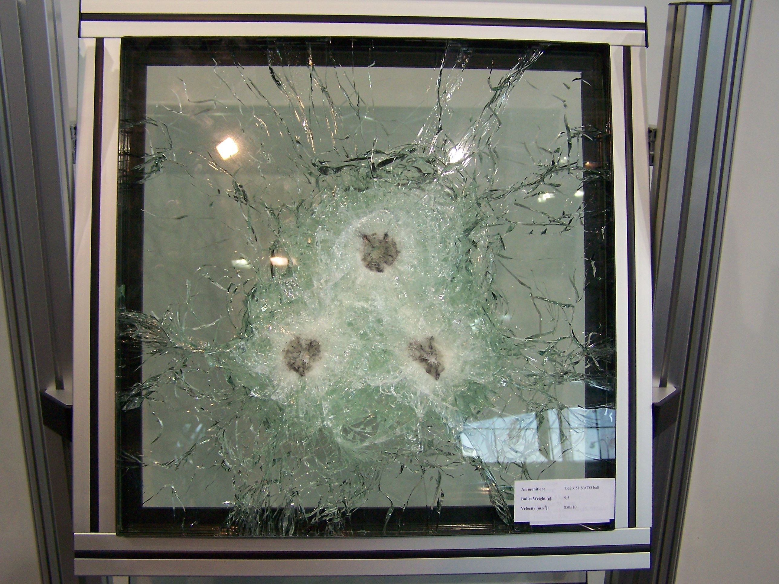 Bulletproof Laminated Glass