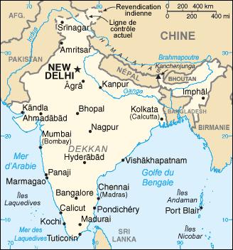 Carte Inde A Imprimer.Frontieres De L Inde Wikipedia