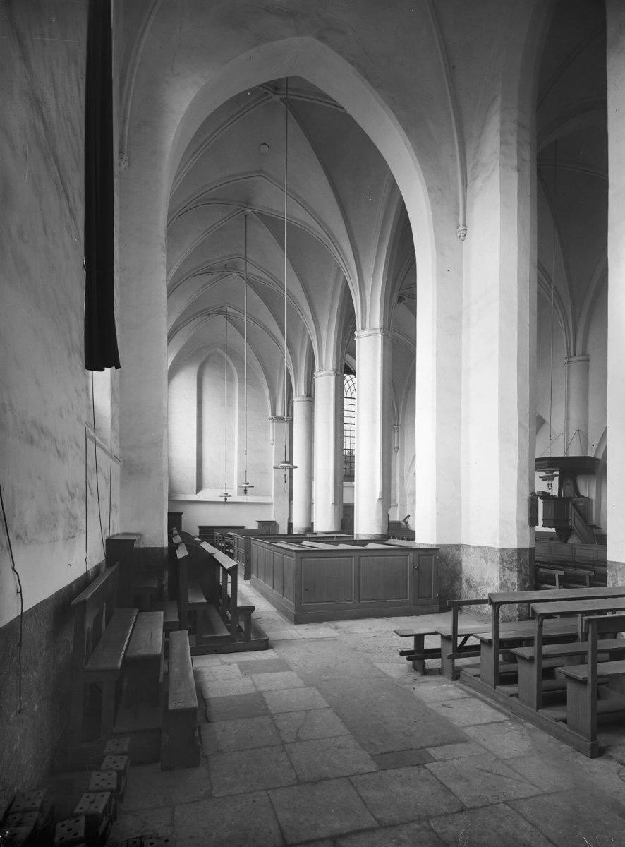 file interieur bethlehemkerk de zuidbeuk naar het westen
