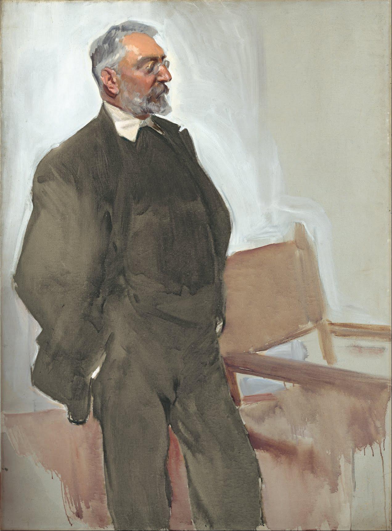 Retratado por Sorolla (c. 1912)