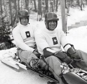 Fritz Feierabend bobsledder