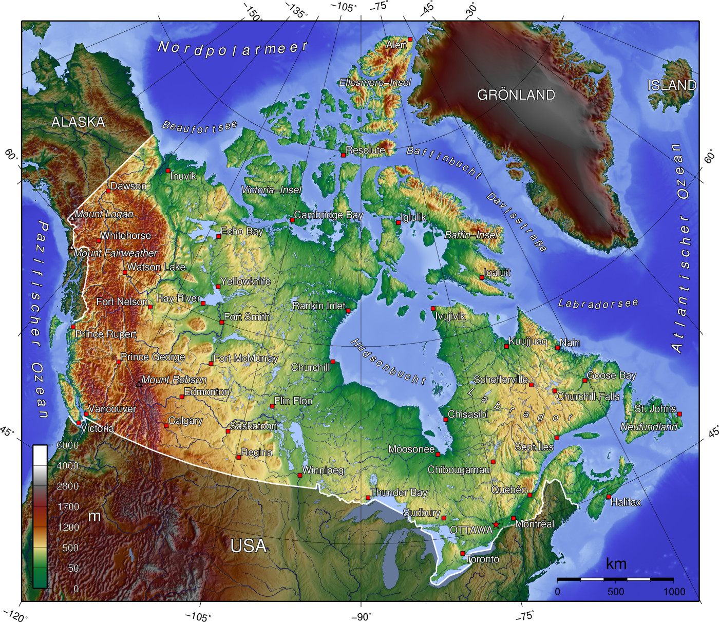 canadian geography What do you know about canada get a quick geography lesson on this large north american country, including it's history, government, environment, and more.