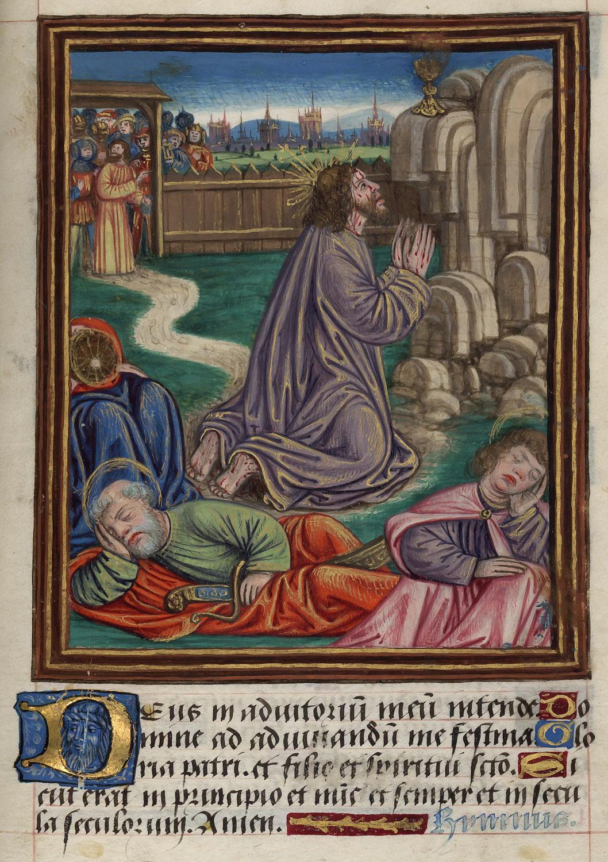 File le christ au jardin des oliviers ms 1874 fol 37 for Au jardin de jean pierre inc