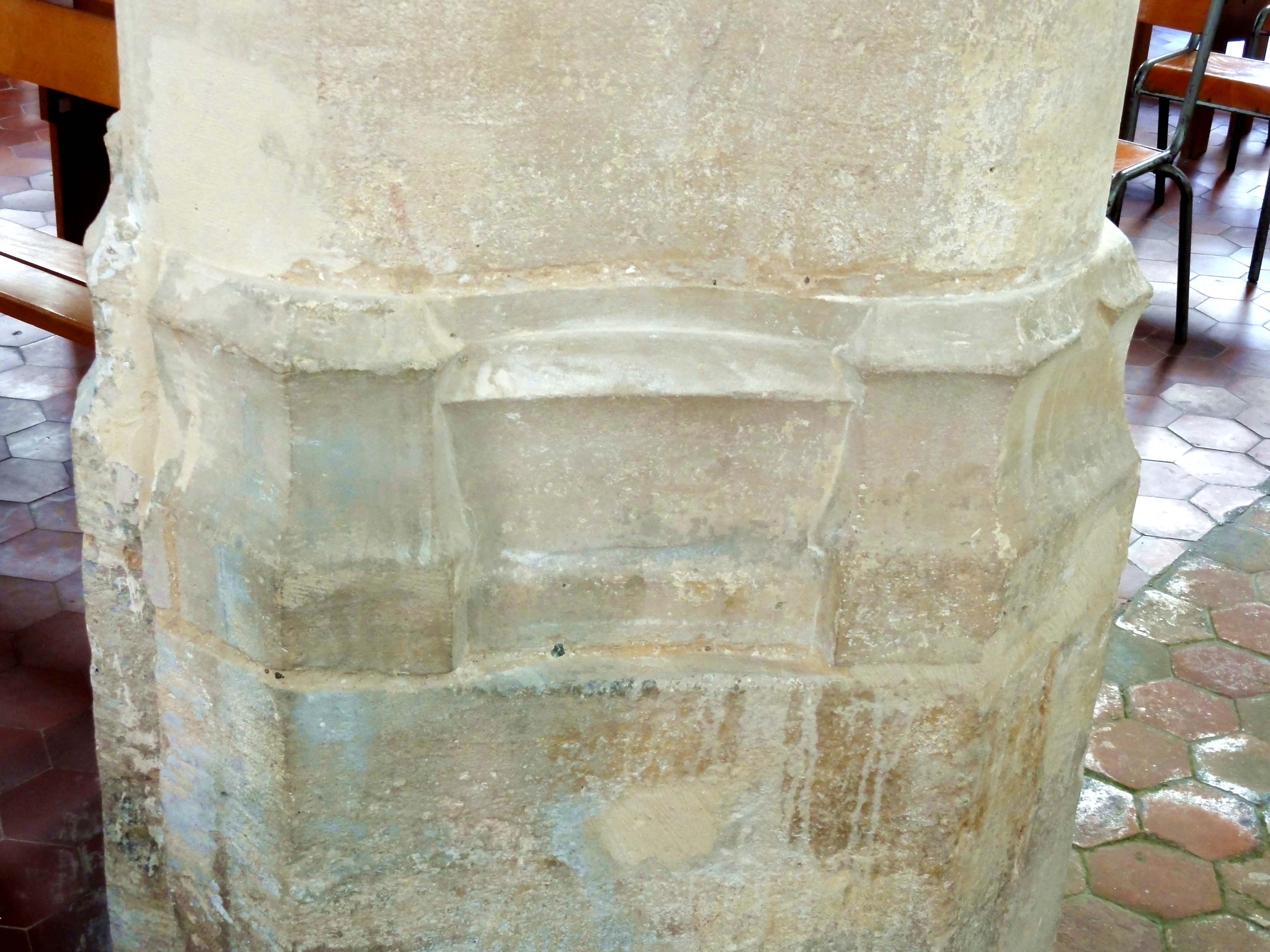 fichier le mesnil en thelle 60 glise saint michel bas c t nord base du 2e pilier des. Black Bedroom Furniture Sets. Home Design Ideas